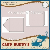 Envelope Template to Fit a 7x7 inch Card – CU/PU