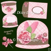 Cloche Hat Card Kit