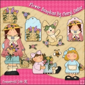 Flower Bumpkins ClipArt Graphic Collection