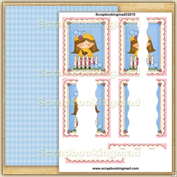 April Shower Wavy Pyramage Side Stacker PDF Download
