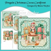 Penguin Christmas Cocoa Cardfront