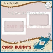 DL Card Box Template – CU/PU