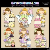 Holly Bath And Body ClipArt Collection