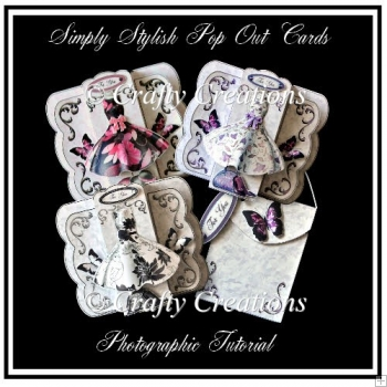 Simply Stylish Pop Out Card & Gift Bag - Photographic Tutorial