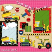 Things That Go ClipArt Graphic Collection