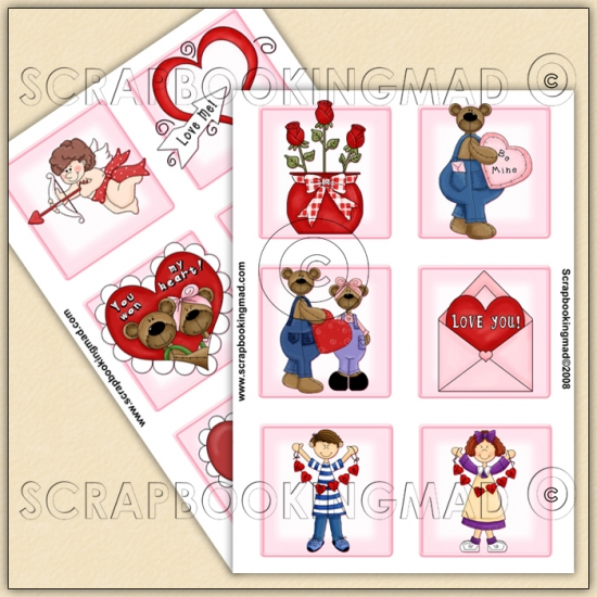 Valentine Download Collection 160 Items - Click Image to Close