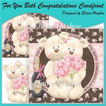 For You Both Congratulations Cardfront