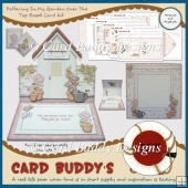 Pottering In My Garden Over The Top Easel Card Kit