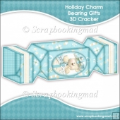 Holiday Charm Bearing Gifts 3D Cracker Gift Box