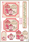 Tea & Biscuits PDF Decoupage Download