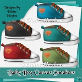Baby Boy Canvas Sneakers