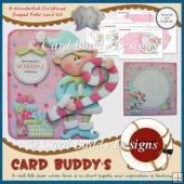 A Wonderful Christmas Shaped Fold Card Kit