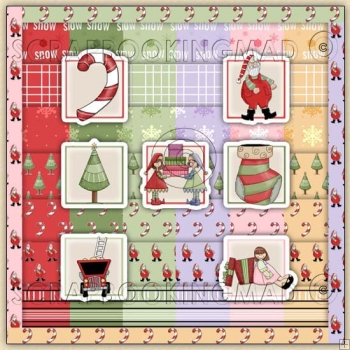 Christmas Holidays Download 175 coordinating Items