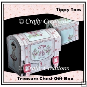 Tippy Toes Treasure Shaped Gift Box