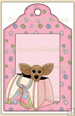 Purse Pets Gift Tag - REF_T640