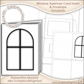 Window Aperture Card Insert & Envelope Commercial Use Ok
