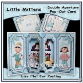 Little Mittens Double Aperture Pop Out