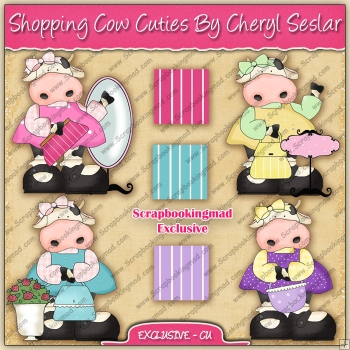 EXCLUSIVE Shopping Cow Cuties Collection