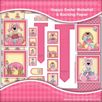 Happy Easter Waterfall Download