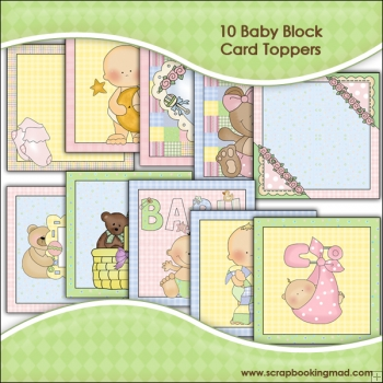 10 Baby Blocks Graphic Collection