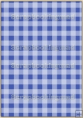 A4 Backing Papers Single - Blue Gingham - REF_BP_146
