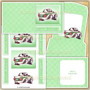 Cartoon Car Card (1) PDF Download
