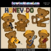 Tibbles Honey To Do List ClipArt Collection