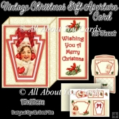 Vintage Christmas Gift Aperture Card