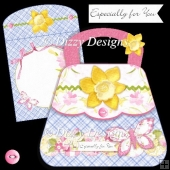 Daffodil Bag Card