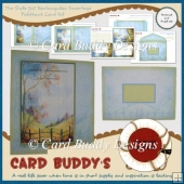 The Style 5x7 Rectangular Invertage Foldback Card Kit