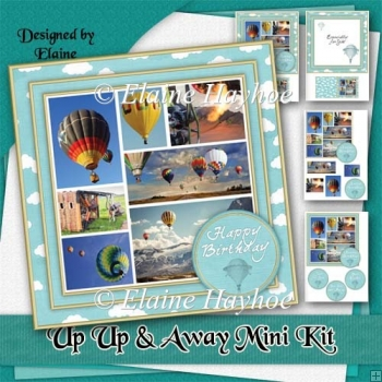 Up Up and Away Birthday Mini Kit