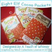 Eight Elf Cocoa Packets