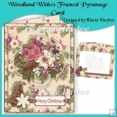 Woodland Wishes Framed Pyramage Card