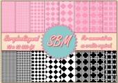 8 PNG Diamond Paper Overlays 12 x12 Designer Resources