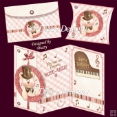 Beary Noteable Card Kit with Freebie Pillow Box