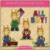 Giraffe Boys Graphic Collection - REF - CS