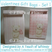 Valentines Gift Bags - Set 1