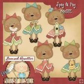 Spring Bears 10 Clip Art Download