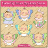 Butterfly Babes Graphic Collection - REF - CS