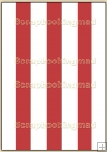 Backing Papers Single - Large Red & White Stripes - REF_BP_25