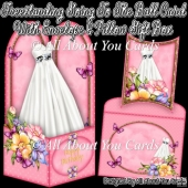 Freestanding Going To The Ball Card & Envelope & Pillow Gift Box