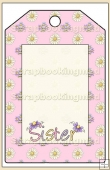 Sister Gift Tag - REF_T582