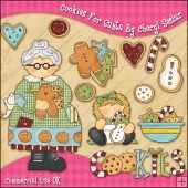 Cookies For Santa ClipArt Graphic Collection
