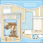 Beary Special Blue Box Card