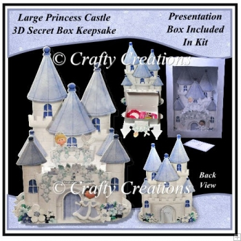 Princess Castle Large Secret Box Keepsake