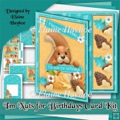 I'm Nuts for Birthdays Card Kit