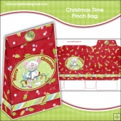 Christmas Time Pinch Bag Download