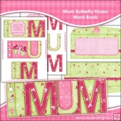 MUM Butterfly Kisses Word Book Download