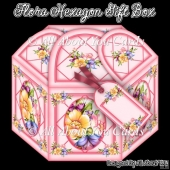 Flora Hexagon Gift Box