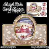 Sleigh Ride Card Topper